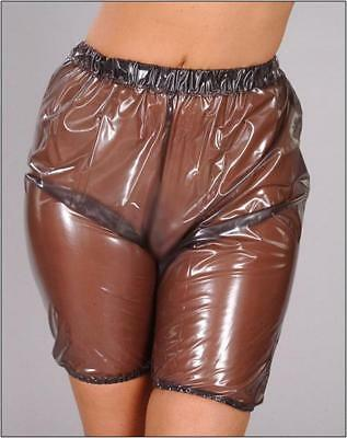PVC Bloomers / Plastic Bottoms - PVCuLike Pants Clothing Gear Shiny Shorts