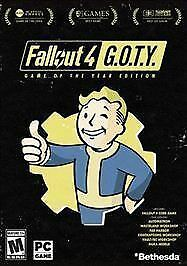 Fallout 4: GOTY Game of the Year Edition PC Steam CD Key, Global, No DVD/CD