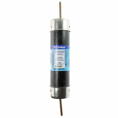 Littelfuse Flsr-200 Dual-Element Time-Delay Fuse, Class Rk5, 600-Volt, 200-Amp