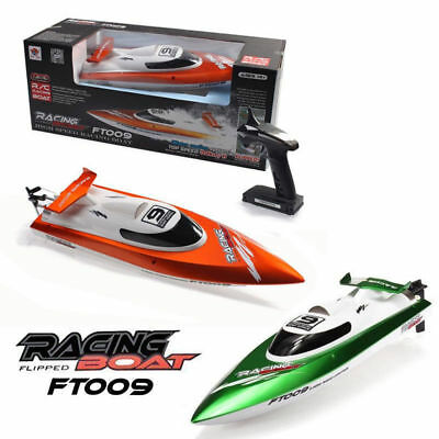 2.4GHz 4CH RC High Speed 30KM/H Racing Boat With Water Cooling Function