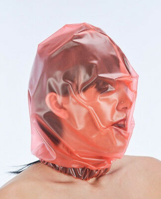 Plastic Bag Style Hood / PVC Baggy Mask / Rebreather - Clothing PVCuLike