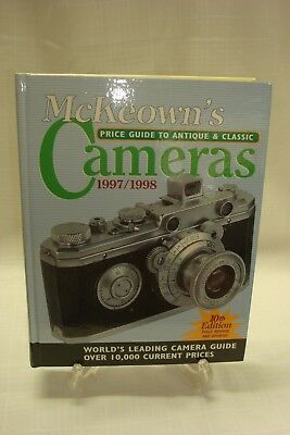 McKeown's Price Guide to Antique and Classic Cameras 1997-1998 10th Edition Nice