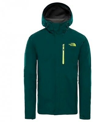 The North Face - Giacca Dryzzle verde   GORE-TEX Uomo Outdoor Poliestere 7dd943c84c8a