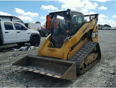 2012 Caterpillar Cat 299D Track Skid Steer 2420 Hours Ac Heat 2 Speed Runs Great