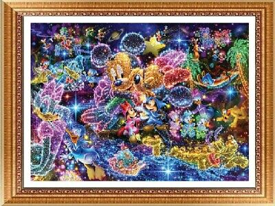 AU Dreamy Disney Full Drill 5D Diamond Painting Embroidery Cross Stitch Kit NU
