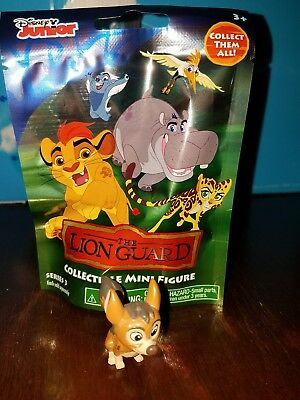 New in bag THE LION GUARD DOGO mini blind bag figure Disney Jr. Series 3