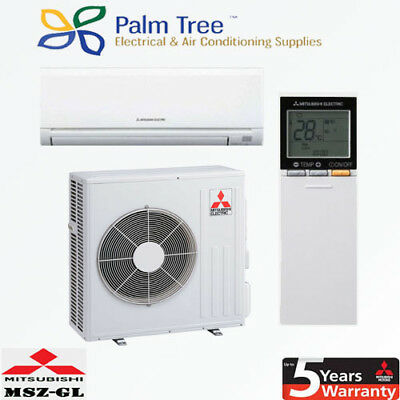 Mitsubishi Electric 5.0kW Split System Inverter Air Conditioner - MSZ-GL50VGD