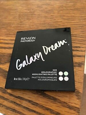 Revlon Photoready Galaxy Dream Holographic Highlighting Palette 003 Brand New