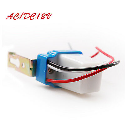 AC DC 12V 10A Auto On Off Photocell light Switch photoswitch light sensor switch