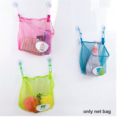 Bath Toys Baby Shower Storage Bathroom Organizer Net Holder Kitchen Mesh Bag A+
