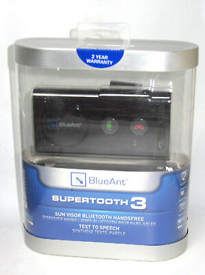 Blueant Supertooth 3 Blue Tooth Hands Free Sealed new