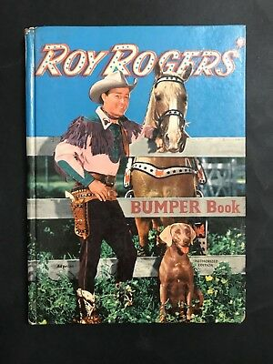 Roy Rogers Rare Australia Bumper Book From 1954