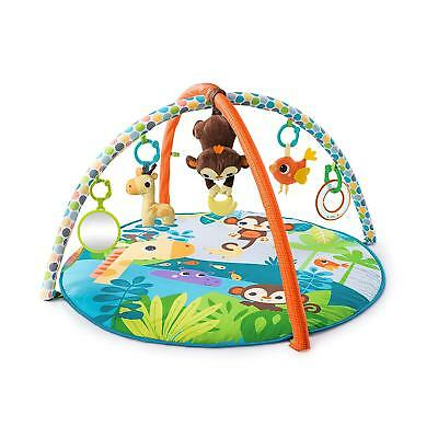 Baby Play Mat Baby Activity Gym Soft Floor Play Center Infant Newborn Toy Green