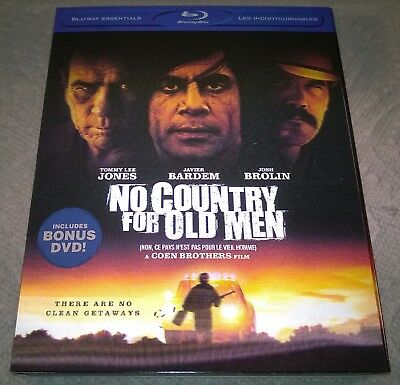 No Country for Old Men (2009 Canada) w/ Blu-Ray Esse 3D Lenticular Slipcover NEW