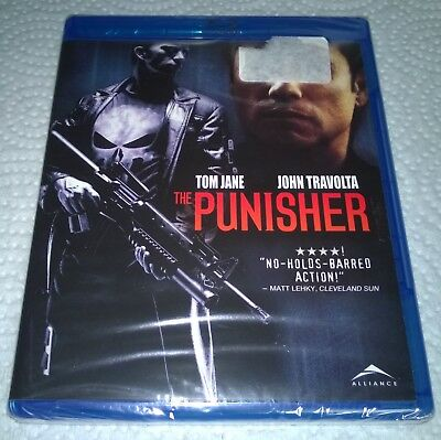 The Punisher (Blu-ray, 2009, Canada) NEW