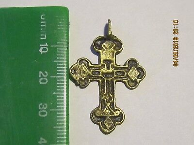 Beautiful ancient cross of the 18th century. Wearable