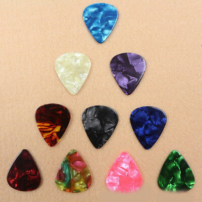 10/20Pcs Electric Guitar Thin Guitar Picks Anti-Slip Plectrum Tool Supply 0.46mm
