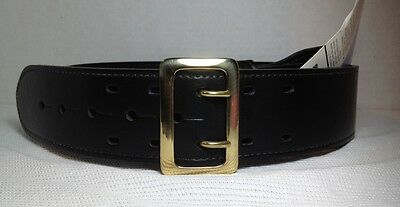 New - Uncle Mike's Mirage Sam Browne Duty Belt Nytek Black Size 36