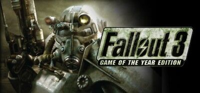 Fallout 3: Game of the Year Edition PC Steam Key, Global/Region Free, No DVD/CD