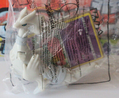 Reshiram Pokemon Spielzeug-Figur +Sammelkarte Neu&ovp Happy Meal Usa Top Aktuell