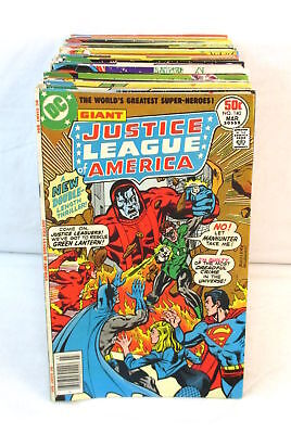 JUSTICE LEAGUE OF AMERICA #140-200 Complete Set Comic Lot DC Bronze Age 1977-82
