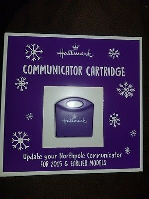 2018 Hallmark North Pole Communicator Cartridge Refill NEW 2018 Messages