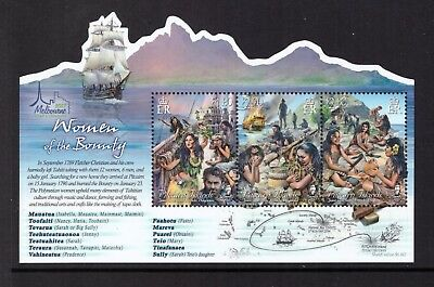 Pitcairn Islands MNH 2017 Melbourne Stamp Show Bounty sheet mint stamps