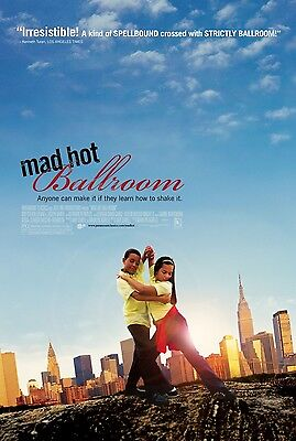Mad Hot Ballroom movie poster  - 13.5 x 20 inches - original studio mini poster