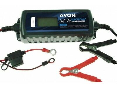 Avon Smart Battery Charger With Fast, Trickle & Maintenance Functions