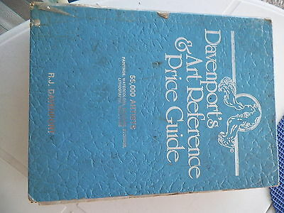 1987/88 Edition Davenport's Art Reference & Price Guide