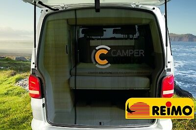 With Tailgate Just Kampers 8 Piece Thermo Thermal Screen Silver Blind Mat Set Transporter T5 SWB