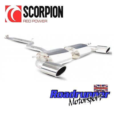 Scorpion Exhaust Mercedes A Class A180 A200 Sport A250 AMG 2WD Non Res SMBS001