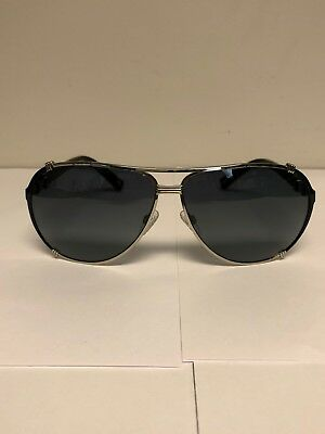 984feee2975 Christian Dior Unisex Sunglasses Chicago 2str Black Silver Brand New Pilot  Lens