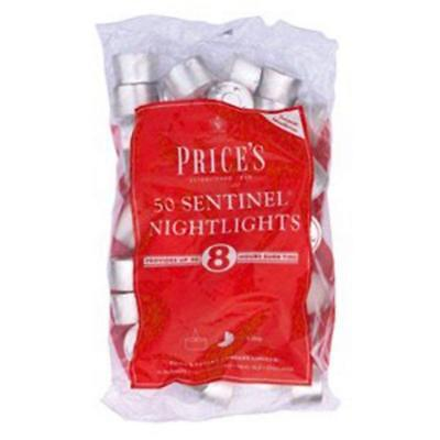 Prices Patent Candles Sentinel 50 Nightlights 8 Hour Tealights Multipacks