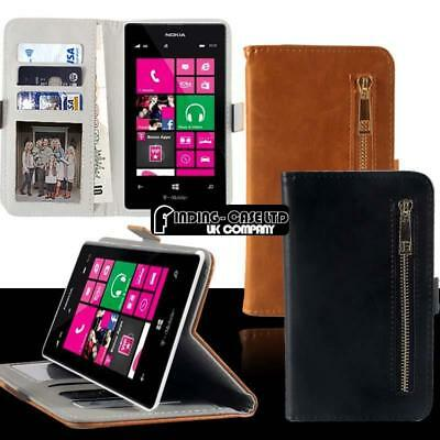 Flip Cover Stand Card Wallet Magnetic Leather Case For Various Nokia Smartphones