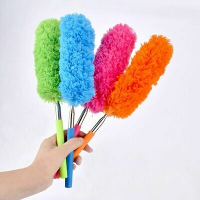 2x Soft Microfiber Anti Duster Brush Cleaner House Furniture Clean Adjustable