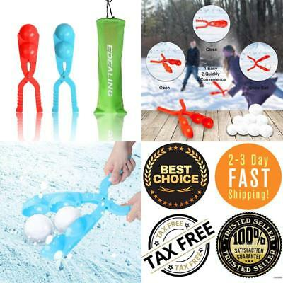 Snowball Maker Snow Toys For Kids Perfect Outdoor Play Freeze Resistant 2 Pack