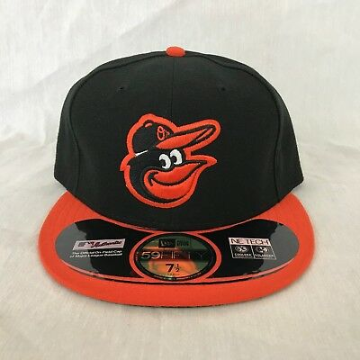 the latest 8d550 5aaa1 New Era 59Fifty MLB Cap Baltimore Orioles On Field Fitted Hat - Black