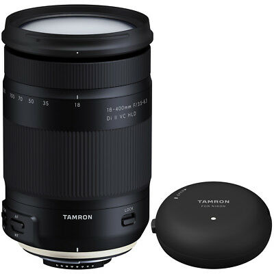 Tamron 18-400mm f/3.5-6.3 Di II VC HLD Zoom Lens for Nikon Mount+TAP-In Console