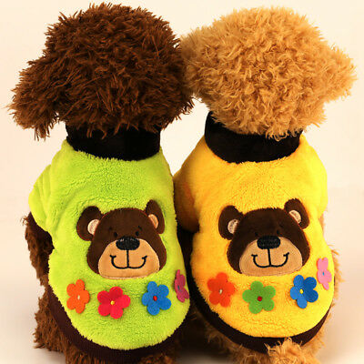 Winter Small Dog Sweater Pet Jacket Clothes Chihuahua Puppy Cat Hoodie Coat Warm