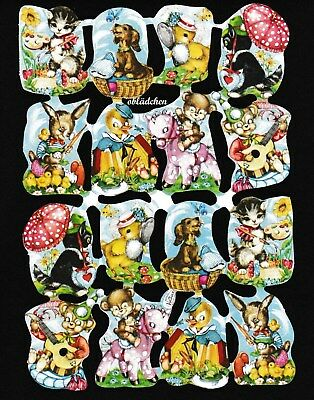 #Poetry Pictures #Krüger 98-125 Funny Animals, Wie 98-05 only in Small, Rare