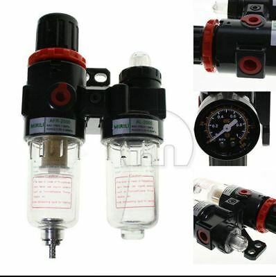 AFC Air Pressure Regulator Oil/Water Separator Filter Compressor AFR2000+AL2000