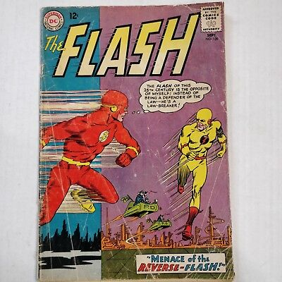 The Flash #139  Origin And 1St App Of Prof Zoom   Reverse Flash