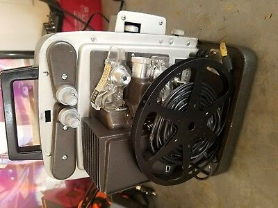 Vintage BELL & HOWELL Model 346A Autoload Super 8mm Projector WORKS ESTATE FIND