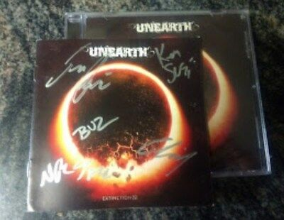 AUTOGRAPHED Unearth Extinction(S) CD signed)