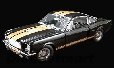 Acme 1:18 1966 Ford Mustang Shelby GT350H Street Version A1801827 Modell Schwarz