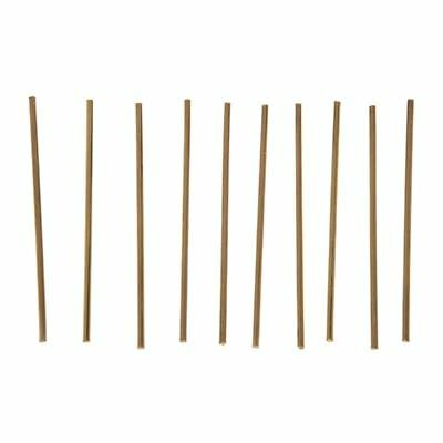 2X(10Pcs Brass 100mm x 3mm Round Rod Stock for RC Airplane Model E9Y1)