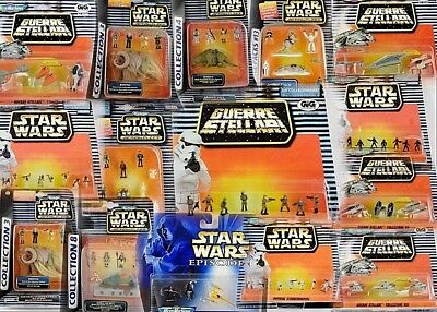 Star Wars Galoob Action Fleet & Micro Machines Sets All Moc