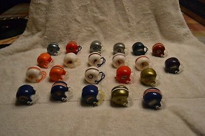 Lot of vintage vending machine toy football helmets from 70s Cowboys  Raiders
