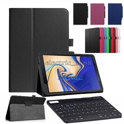 For Samsung Galaxy Tab A 10.5 2018 T590 T595 Tablet Keyboard Leather Case Cover